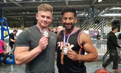 Sohail Rashid and Andy Smith from strength app Brawn