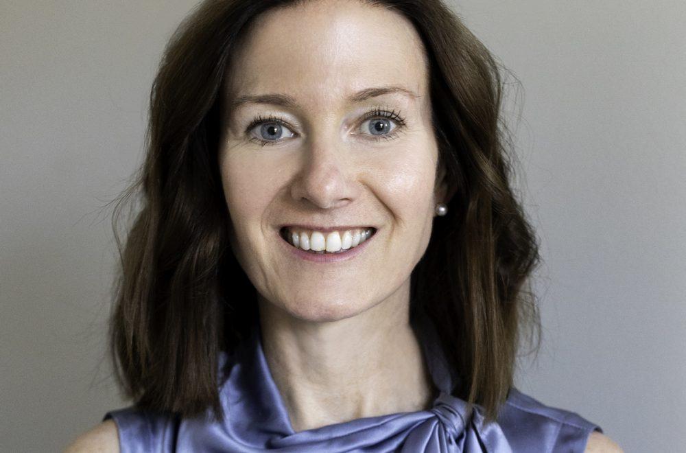 Headshot of Kristie Kruhl. The managing partner and global health practice leader of Finn Partners