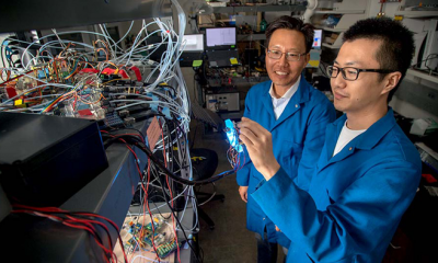 A prototype electronic nose could have implications for disease detection.